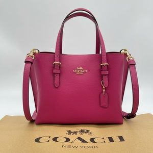 Coach Millie Tote 25 in Crossgrain Leather